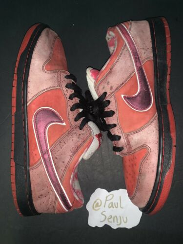 Nike Dunk SB Low Red Lobster Size 11 100% Authentic