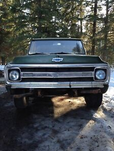 REDUCED PRICE! 1970 Chevy c20 +1986 Chevy square body