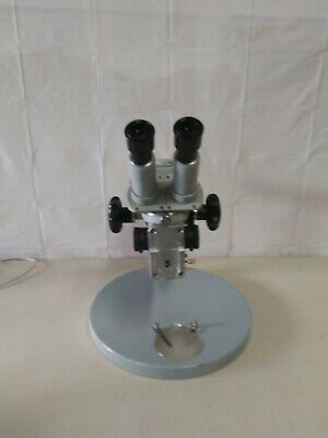 Zeiss Microscope Opmi 1 Stereozoom Microscope With Stand Olympus 10x Eyepiece