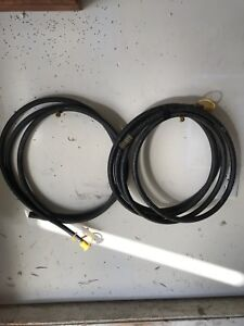 2 hoses for propane or natural gas. NG or LP