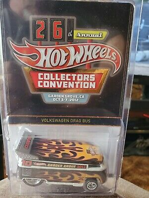 Hot Wheels 2012 26th Collector's Convention Dinner Volkswagen VW Drag Bus HW