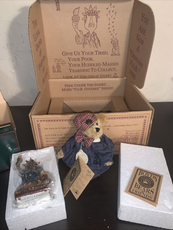 Boyds bears and friends Liberty Gift Box