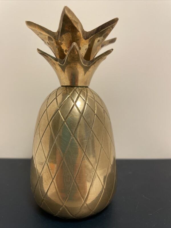 Vintage Brass Pineapple Bell - 4 Inches Tall. Nice Condition!