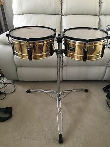 Brass Timbales, Afro, Made In Japan. Willmot Blacktown Area Preview