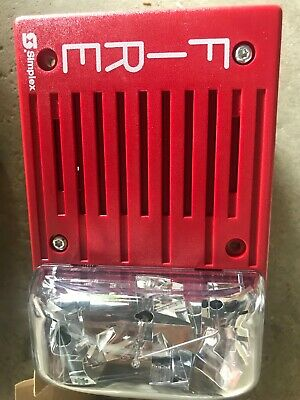Simplex 4903-9236 Fire Alarm Horn Strobe Red