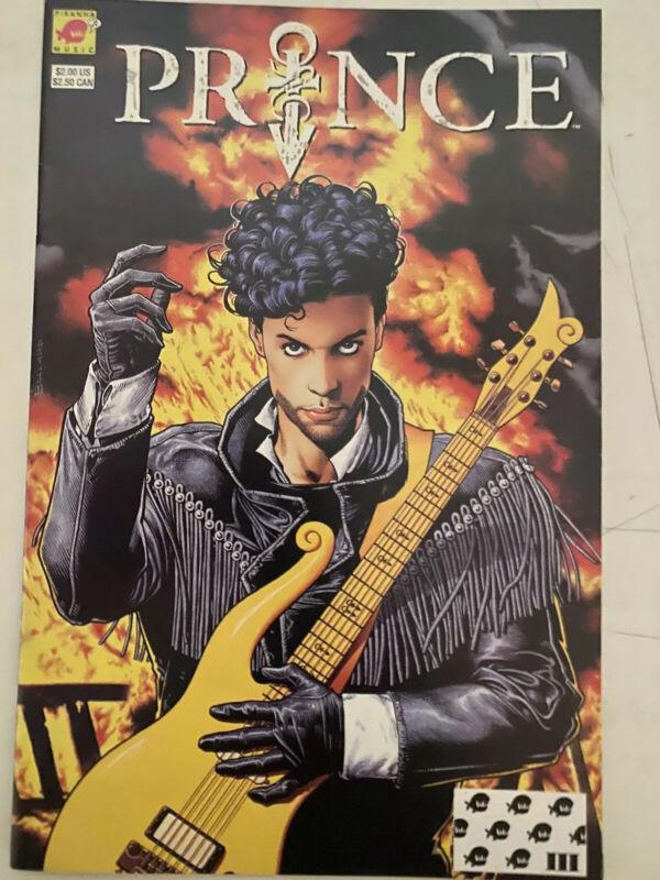 Prince Comic Book Piranha Music 1991 3rd Pressing Brian Bolland Cover