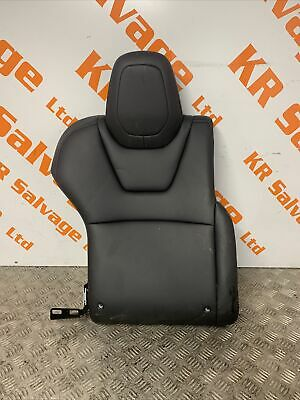 2018 TESLA MODEL S DRIVER OFF SIDE REAR RIGHT SEAT BACK CUSHION BLACK