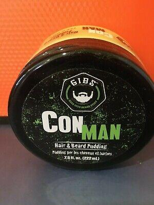 Gibs Con Man Hair & Beard Pudding 7.5 oz
