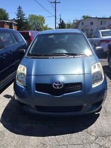 TOYOTA YARIS 2006 AUTOMATIQUE HATCHBACK 126K KM