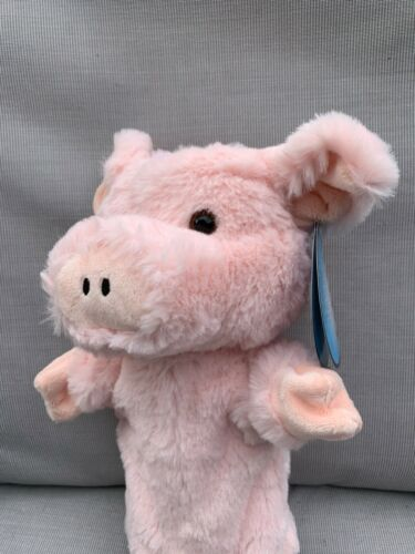 The+Puppet+Company+PINK+PIG+%F0%9F%90%96++HAND+Puppet+NEW+uK+SELLER