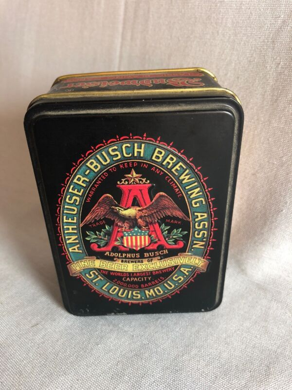 Vintage Anheuser-Busch Budweiser Classic Playing Cards Tin
