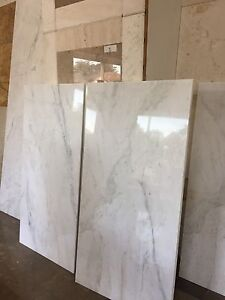 """Calacatta Picasso Marble mini slab size tiles """"700x1400x10 Northgate Brisbane North East Preview"""