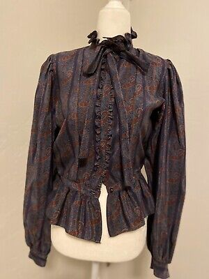 Emanuel Ungaro Silk Blouse Vintage, New With Tags