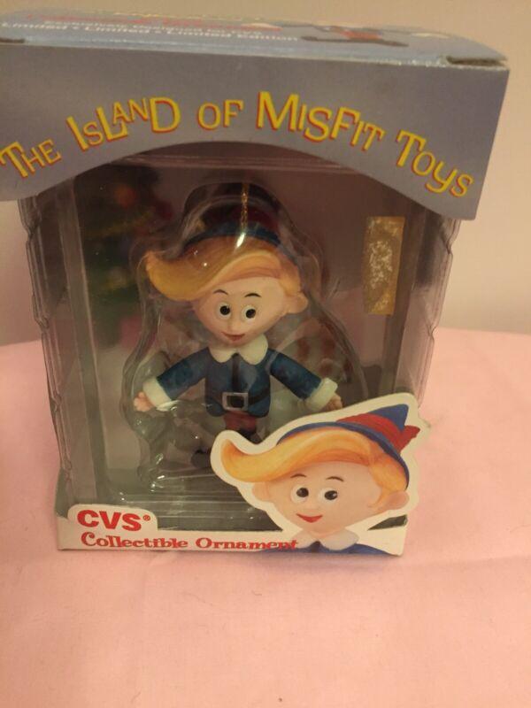 1999 Rudolph Island Of Misfit Toys Hermie Christmas NIB
