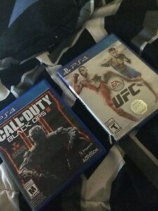 Call of Duty Black ops 3 and UFC for sale