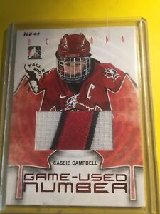 Hockey card Cassie campbell