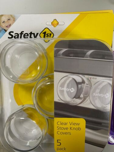 Safety 1st  (5) PACK Stove and Oven Knob Covers