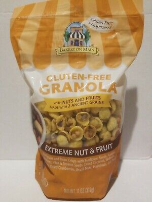 Bakery on Main Gluten-Free Extreme Nut and Fruit Granola 11 oz (Bakery On Main Gluten Free Granola)
