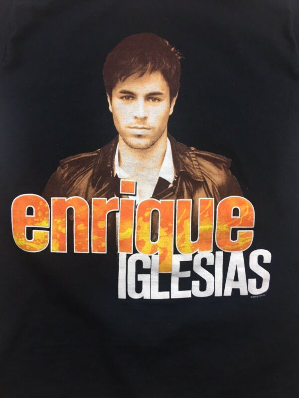 Enrique Iglesias T Shirt Size Small