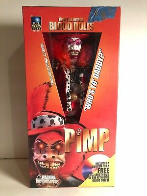 Blood Dolls Pimp Figure New In Box 2001 Full Moon Toys
