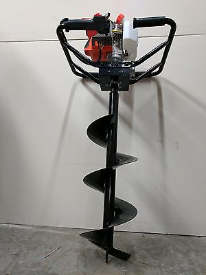 Hoc One Man Auger 71 Cc 6 Inch 4 Foot Bit 90 Day Warranty Free Shipping
