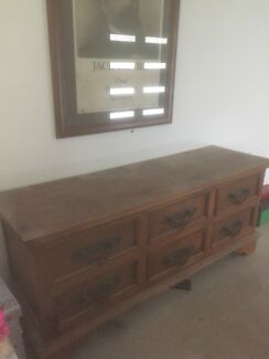 large balinese chest of drawers