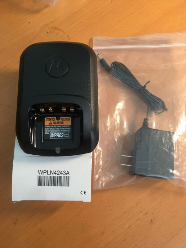MOTOROLA IMPRES CHARGER w/Power Adapter for MotoTrbo XPR/DP series