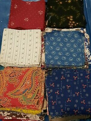 100/% Cotton Apparel Home Decor Craft Projects 12 or 1 Yard Each Trains on Blue and Small Dot Tone on Tone Red Fabric Bundle Quilting