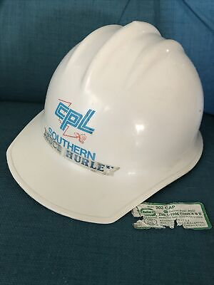 Vintage Reddy Kilowatt Wisconsin Electric Power Company Hard Hat White Bullard