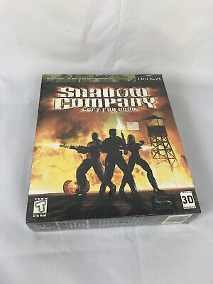 Shadow Company: Left for Dead (PC, 1999) Big Box New Sealed  ()