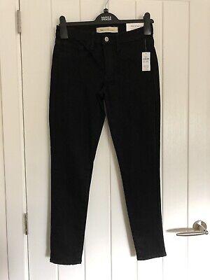 Brand New Gap Black Skinny Jeans Size 10R Ladies