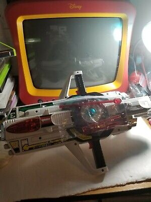 Rangers Laser - Power Rangers Time Force Deluxe Vortex Blaster COMPLETE with laser ammo