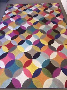 Unique design plush rug 2x3 metres Yowie Bay Sutherland Area Preview