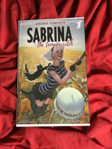 SABRINA THE TEENAGE WITCH #1~ADAM HUGHES VARIANT COVER~ARCHIE COMICS BOOK~