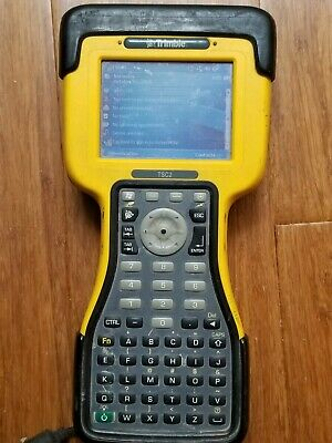 Trimble Tsc2 Gnss Total Station Data Collector Survey Controller 12.50