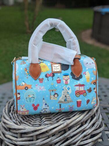 Disney Parks Dooney & Bourke Satchel Bag by Jerrod Maruyama Annual Passholder I