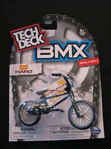 NEW-TECH-DECK-Mini-BMX-Haro-Series-2-Spin-Master