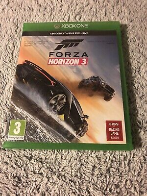 Forza horizon 3 Xbox one used but in excellent condition.