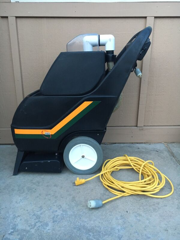 NSS Stallion 8SC Carpet Extractor Cleaner Cleaning Machine Walk Behind Pull