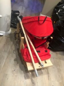 Winter sled wagon for kids under 5