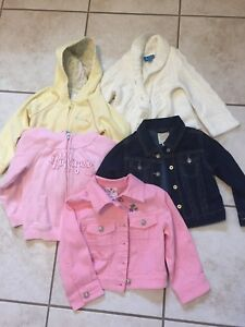 Girls size 3T jackets/hoodies