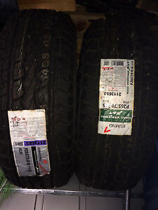 2  Brand New P 265/70/ R16 tires for sale
