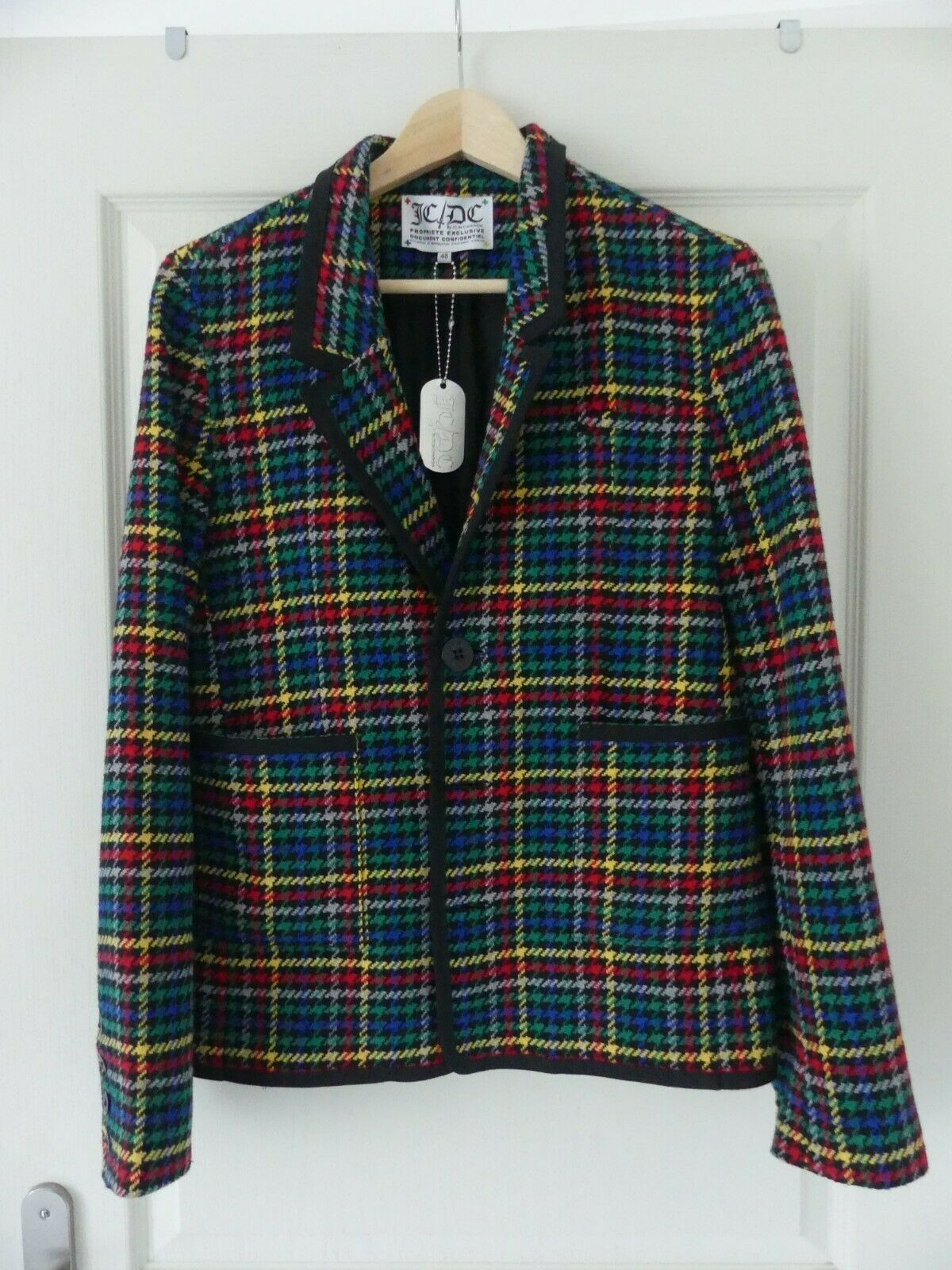 Très belle veste tweed jean-charles de castelbajac taille (it) 48