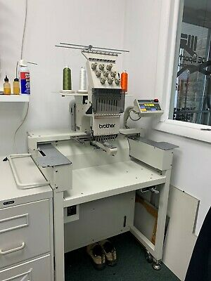 Brother Bas-415 Single Head Commercial 9-needle Embroidery Machine