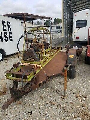 Skid Mounted Pneumatic Boring Machine With Trailer
