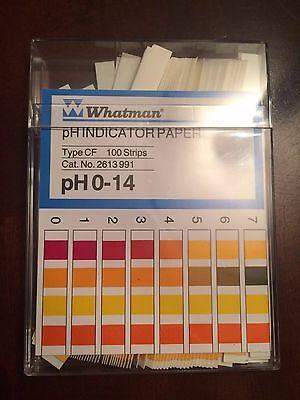 Whatman Ph Indicator Paper Type Cf Ph0-14 100 Ct.