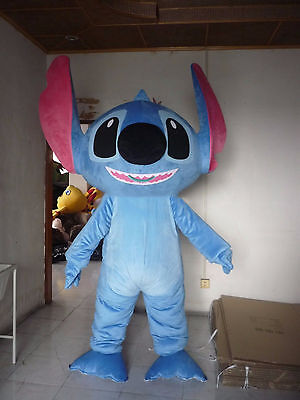 Lilo & Stitch Mascot Costume Party Game Character Fancy Dress Adults Outfit 2018 - Game Character Costumes