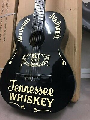 JACK DANIELS FULLSIZE ACOUSTIC GUITAR , WORLD WIDE DELIVERY, MAN CAVE PUB