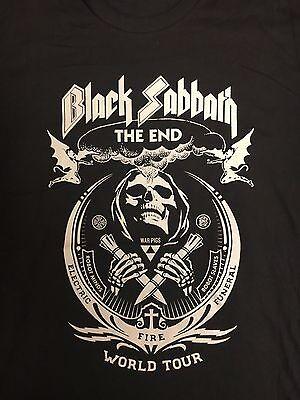 BLACK SABBATH Shepard Fairiey Design Black The End Tour 2016