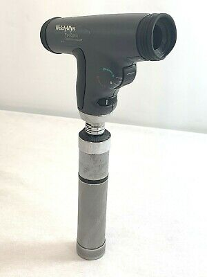 Hpx Panoptic Ophthalmoscope Welch Allyn 3.5v Halogen 11820 W Metal Handle 6142